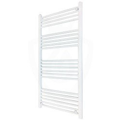 Straight White Towel Rail - 600 x 1200mm