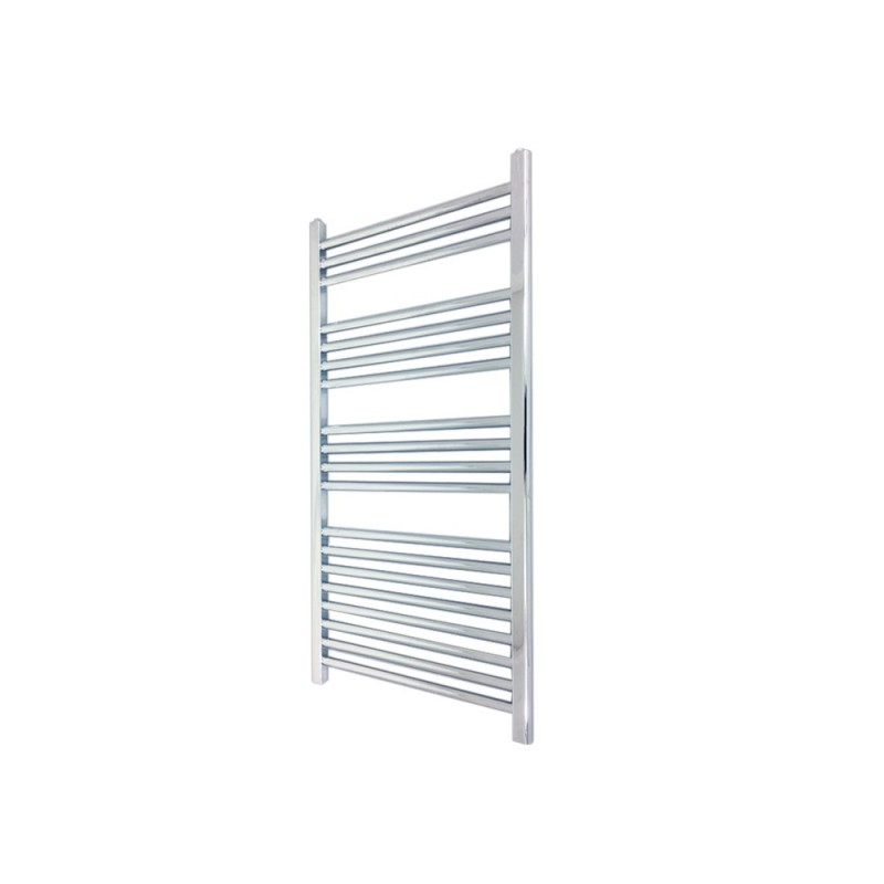 Straight Chrome Towel Rail - 400 x 1000mm