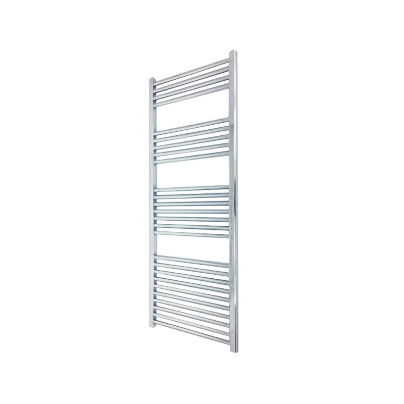 Straight Chrome Towel Rail - 400 x 1400mm