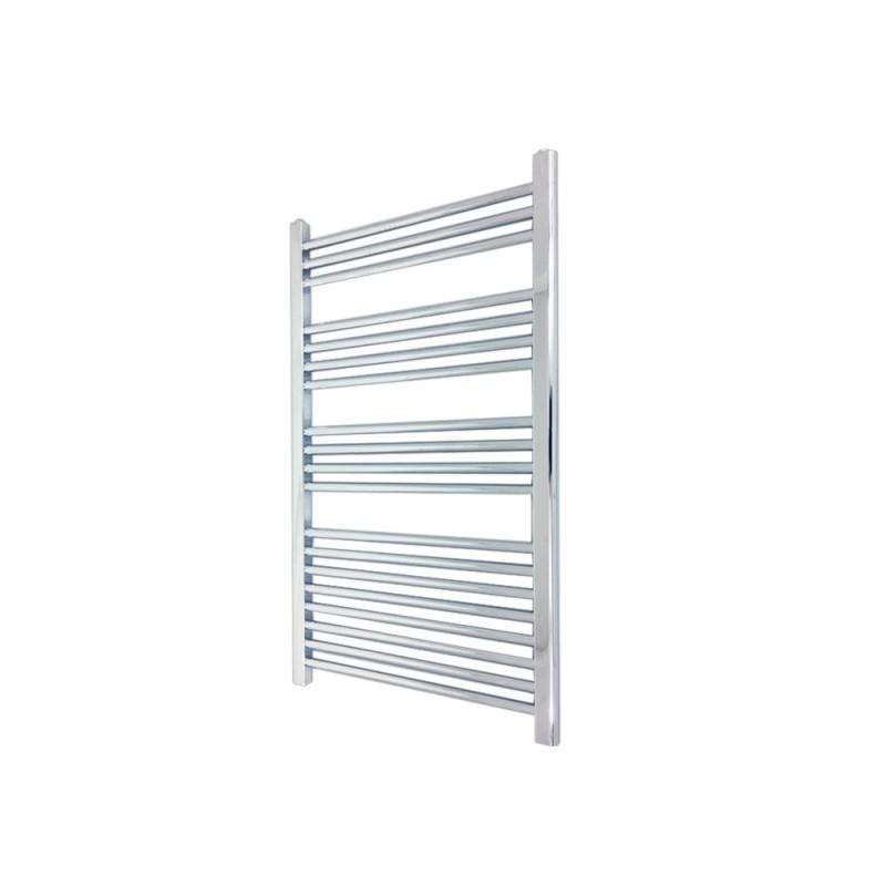 Straight Chrome Towel Rail - 500 x 1000mm