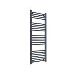 Straight Anthracite Towel Rail - 400 x 1200mm