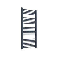 Straight Anthracite Towel Rail - 500 x 1200mm