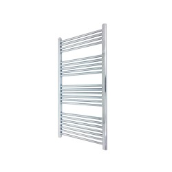 Straight Chrome Towel Rail - 500 x 1200mm