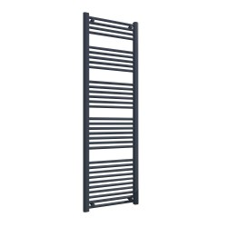 Straight Anthracite Towel Rail - 500 x 1600mm