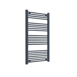 Straight Anthracite Towel Rail - 600 x 1200mm