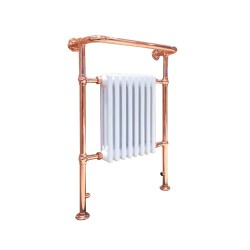 Eleanor Traditional Copper Towel Rail - 673 x 963mm
