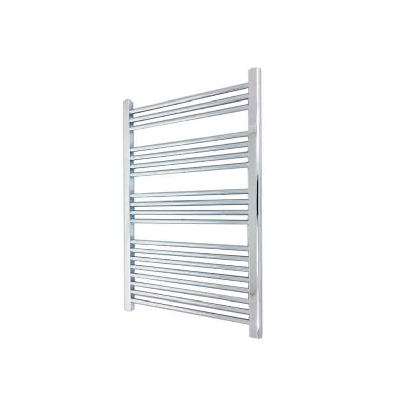 Straight Chrome Towel Rail - 600 x 1000mm