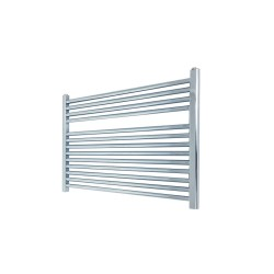 Straight Chrome Towel Rail - 900 x 600mm