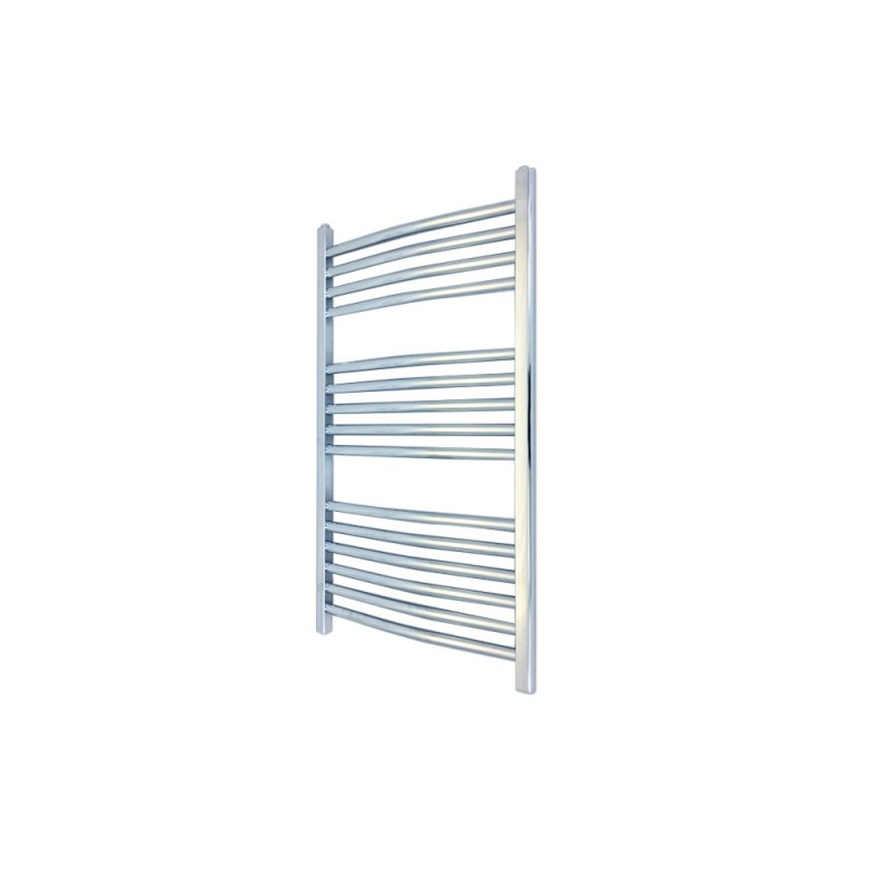 Straight Chrome Towel Rail - 400 x 800mm