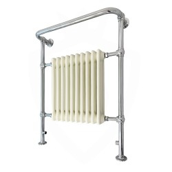 Chester Floor Standing Traditional Towel Rail - 735 x 952mm
