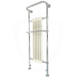 Epsom Floor Standing Traditional Towel Rail - 576 x 1520mm