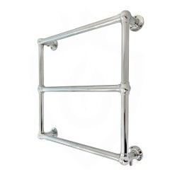 Kelso Wall Mounted Traditional Towel Rail - 685 x 685mm