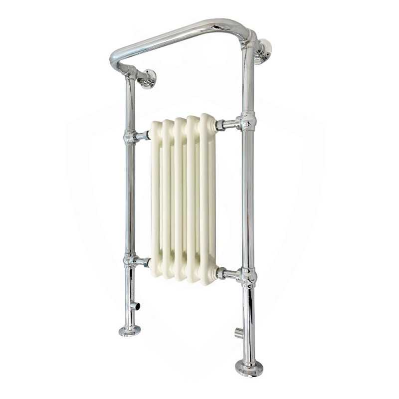 Cartmel Floor Standing Traditional Towel Rail - 500 x 952mm