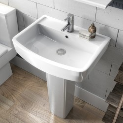 Bliss 600mm Basin & Pedestal