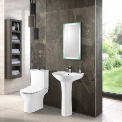 Freya 550mm Basin and Pedestal