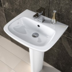 Ambrose 450mm Basin & Semi Pedestal