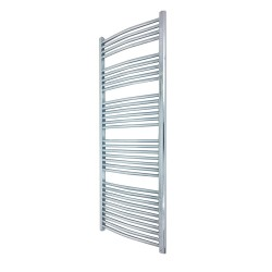 Curved Chrome Towel Rail - 500 x 1600mm