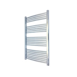 Curved Chrome Towel Rail - 600 x 1200mm