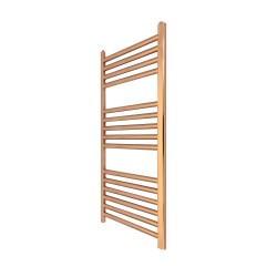 Straight Copper Towel Rail - 300 x 800mm
