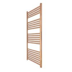 Straight Copper Towel Rail - 300 x 1200mm