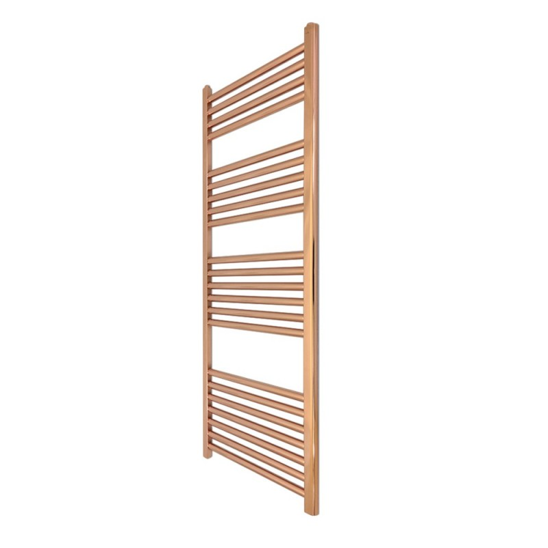Straight Copper Towel Rail - 300 x 1200mm
