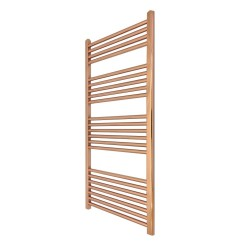 Straight Copper Towel Rail - 500 x 1200mm