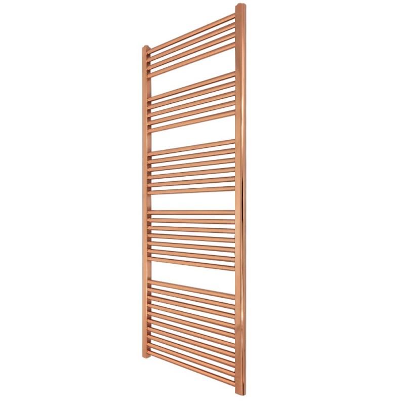 Straight Copper Towel Rail - 500 x 1600mm