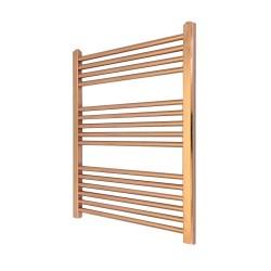 Straight Copper Towel Rail - 600 x 800mm
