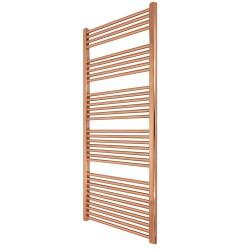 Straight Copper Towel Rail - 600 x 1600mm