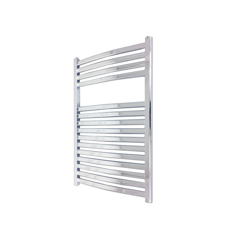 Emperor Chrome Designer Towel Rail - 500 x 800mm