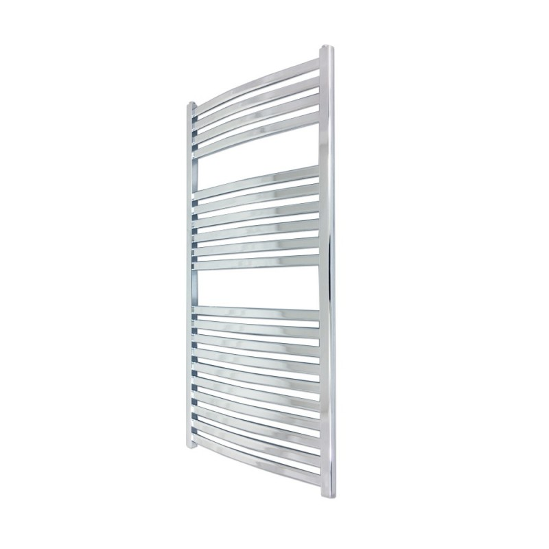 Emperor Chrome Designer Towel Rail - 500 x 1100mm