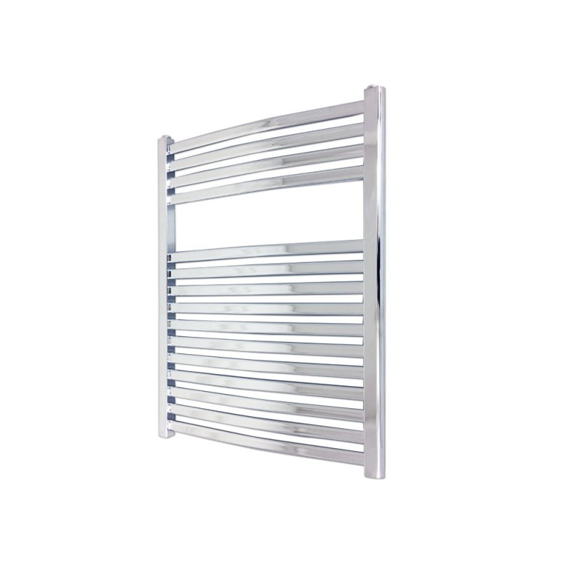 Emperor Chrome Designer Towel Rail - 600 x 800mm