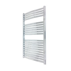 Emperor Chrome Designer Towel Rail - 600 x 1400mm