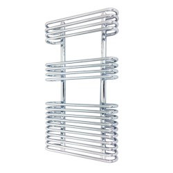 Napoleon Chrome Designer Towel Rail - 500 x 900mm