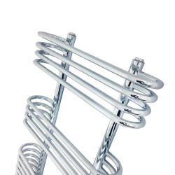 Napoleon Chrome Designer Towel Rail - 500 x 900mm - Closeup