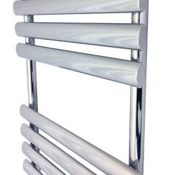 Queen Chrome Designer Towel Rail - 500 x 930mm