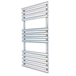 Queen Chrome Designer Towel Rail - 500 x 1200mm