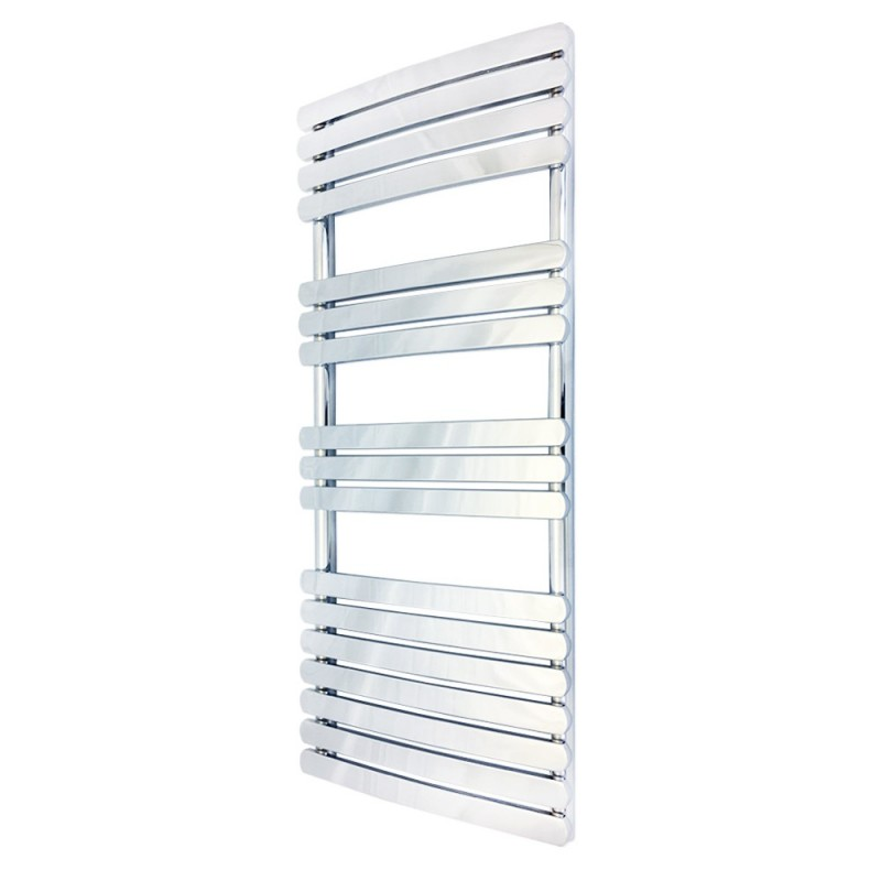 Ceasar Chrome Designer Towel Rail - 500 x 1200mm