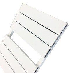Viceroy White Designer Towel Rail - 500 x 1200mm - Closeup
