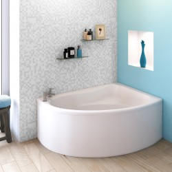 Pilot Corner Bath with Front Panel Left Handed  1450mm x 950mm
