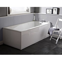 Square Single Ended Bath 1600mm x 700mm
