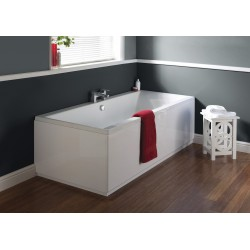Square Double Ended Bath 1700mm x 750mm