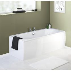 Gloss White 700mm Acrylic Bath End Panel