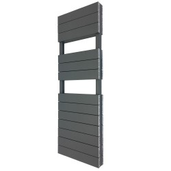Viceroy Anthracite Double Designer Towel Rail - 500 x 1500mm