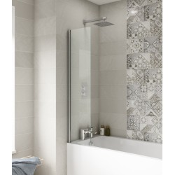 Fixed Bath Screen 350mm x 1400mm