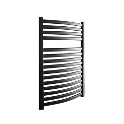Emperor Black Designer Towel Rail - 600 x 800mm