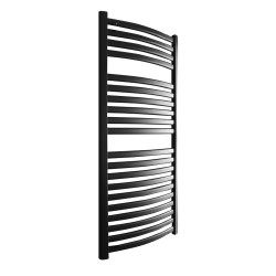 Emperor Black Designer Towel Rail - 500 x 1100mm