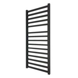 Monarch Black Designer Towel Rail - 500 x 1165mm