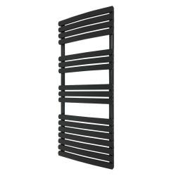 Ceasar Black Designer Towel Rail - 500 x 1200mm