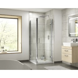 Pacific Hinged Shower Door 760mm